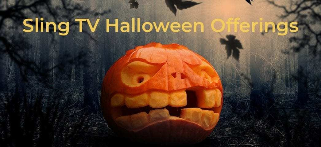 halloween on sling tv