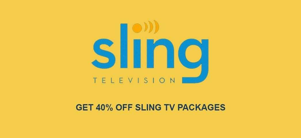 40% off sling tv packages