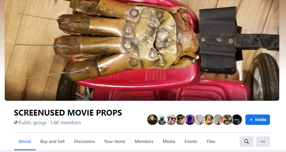 movie prop group